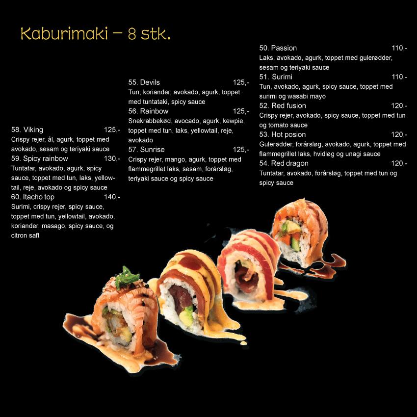 Sushi kaburimaki